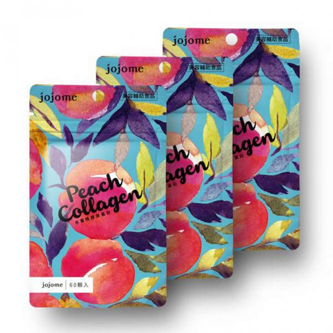 【jojome】Peach Collagen Tablet (3 Packs)