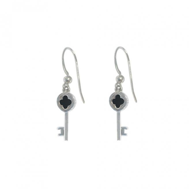 【FALAIYA x LA BELLE VIE】CLE MINI mini key earrings_DD1008