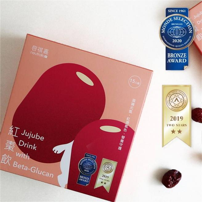 【启祺嘉】Jujube Drink Beta-Glucan 15pack
